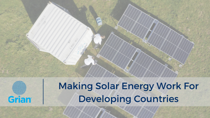 Making Solar Energy Work for Developing Countries