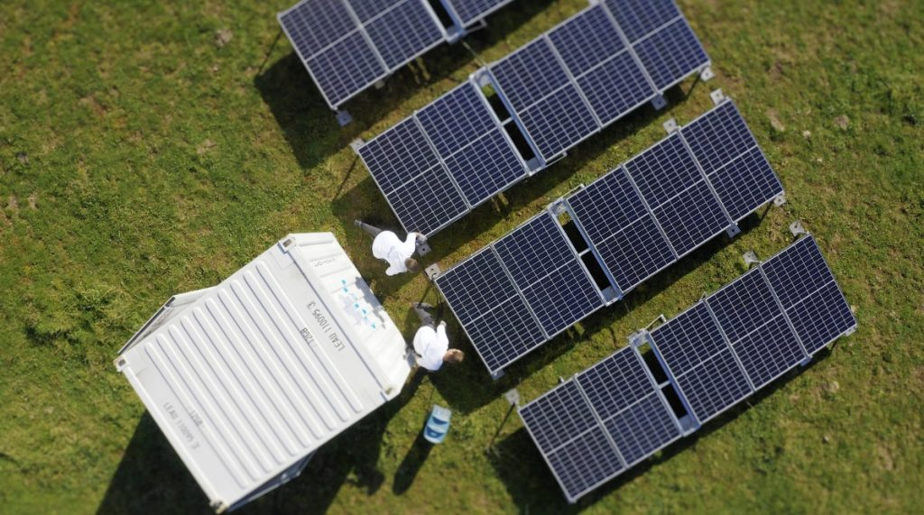 solar energy for remote countries