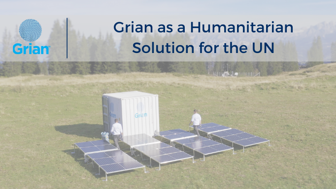 Grian as a Humanitarian Solution for the UN