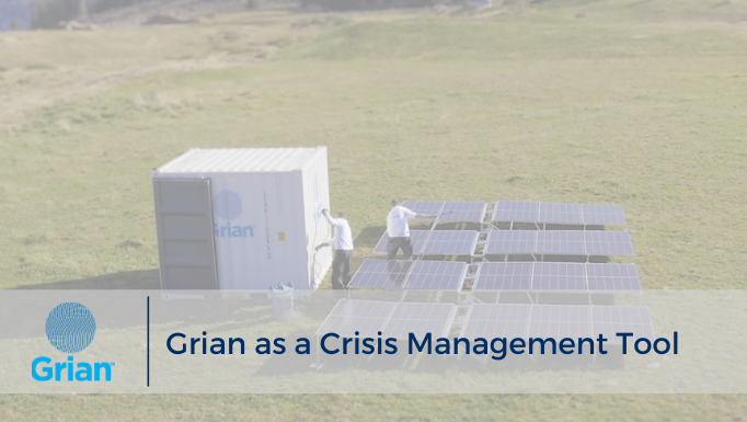 Grian as a Crisis Management Tool