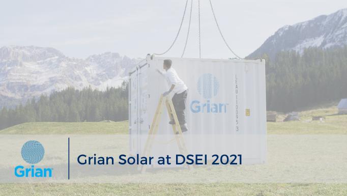 Grian Solar at DSEI 2021